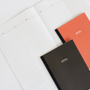 PAPERWAYS NOTEBOOK M - MONTHLY2 - DARK BROWN