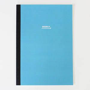PAPERWAYS NOTEBOOK M - WEEKLY2 - CADET BLUE