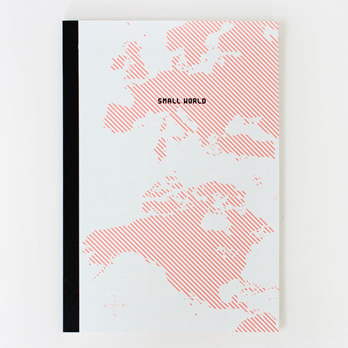 PAPERWAYS NOTEBOOK M - SMALL WORLD