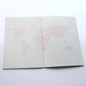 PAPERWAYS NOTEBOOK L - SMALL WORLD