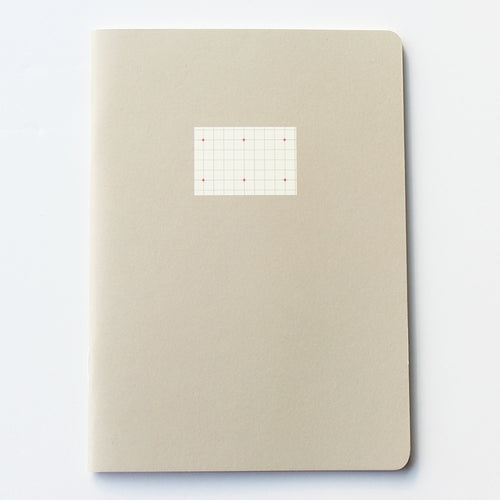 PAPERWAYS COMPAT NOTEBOOK - CROSS GRID GRAY
