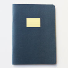 Load image into Gallery viewer, PAPERWAYS COMPAT NOTEBOOK - RULED PEACOCK BLUE
