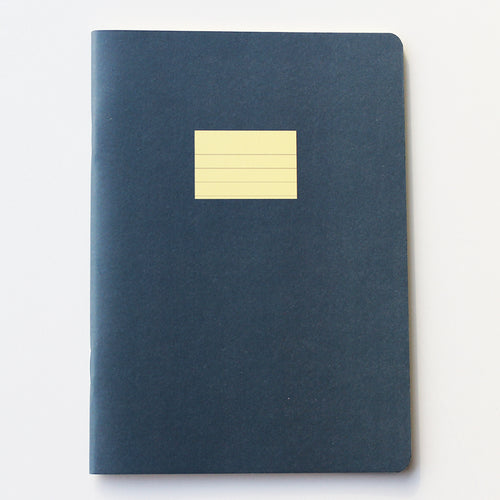 PAPERWAYS COMPAT NOTEBOOK - RULED PEACOCK BLUE