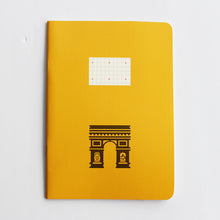 Load image into Gallery viewer, PAPERWAYS COMPAT NOTEBOOK - PARIS ARC DE TRIOMPHE