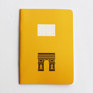 PAPERWAYS COMPAT NOTEBOOK - PARIS ARC DE TRIOMPHE