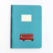 Load image into Gallery viewer, PAPERWAYS COMPAT NOTEBOOK - LONDON BUS