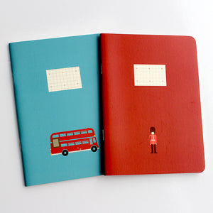 PAPERWAYS COMPAT NOTEBOOK - LONDON BUS