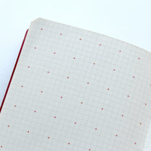 Load image into Gallery viewer, PAPERWAYS COMPAT NOTEBOOK - CROSS GRID RED