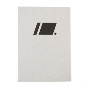 PAPERWAYS RECYCLED DRAWING BOOK - BLACK