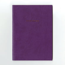 Load image into Gallery viewer, PAPERWAYS PIMM NOTEBOOK A5 - 03. VIOLET