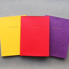 Load image into Gallery viewer, PAPERWAYS PIMM NOTEBOOK A5 - 01. YELLOW