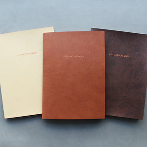 PAPERWAYS PIMM NOTEBOOK A5 - 08. BROWN