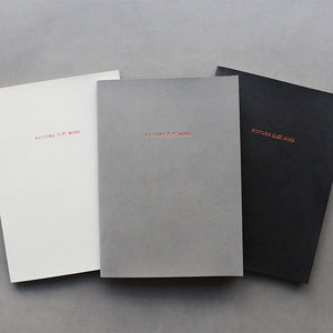 PAPERWAYS PIMM NOTEBOOK A5 - 10. LIGHT GRAY