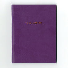 Load image into Gallery viewer, PAPERWAYS PIMM NOTEBOOK A6 - 03. VIOLET