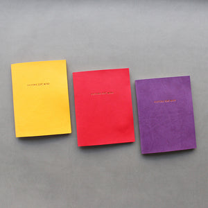 PAPERWAYS PIMM NOTEBOOK A6 - 01. YELLOW