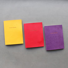Load image into Gallery viewer, PAPERWAYS PIMM NOTEBOOK A6 - 02. VIVID RED