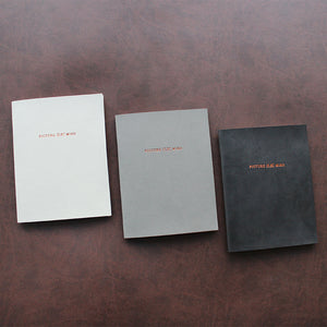 PAPERWAYS PIMM NOTEBOOK A6 - 10. LIGHT GRAY