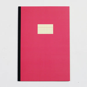 PAPERWAYS NOTEBOOK L - FG1 - CRIMSON RED