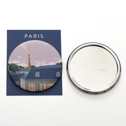 TITTA BUTTON MIRROR - 02. PARIS EVENING