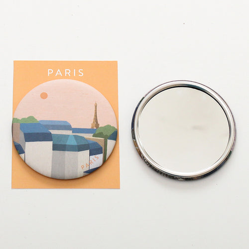 TITTA BUTTON MIRROR - 03. PARIS SUNSET
