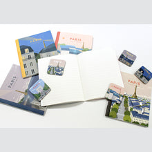 Load image into Gallery viewer, TITTA MINI NOTEBOOK - 02. PARIS EVENING