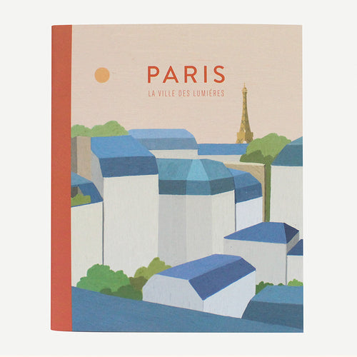 TITTA MINI NOTEBOOK - 03. PARIS SUNSET