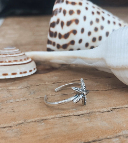 Starfish Toe Ring