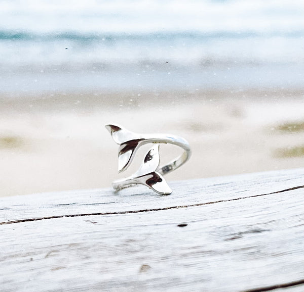 Mermaid Tail Ring - Whale Tail Ring