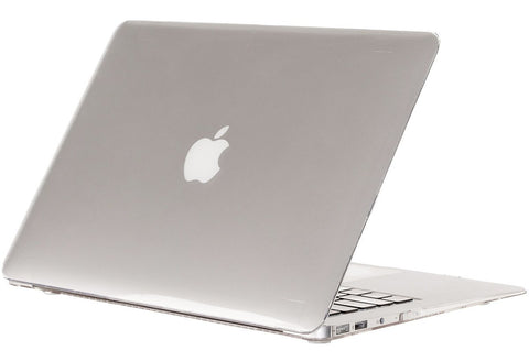 "AIR 13-inch CLEAR Crystal Hard Case for Apple MacBook Air 13.3"" Models: A1369 and A1466 SeeThru Cover Shell - CLEAR CRYSTAL"
