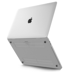 Minimalist-frosted/white-MacBook-Pro-case