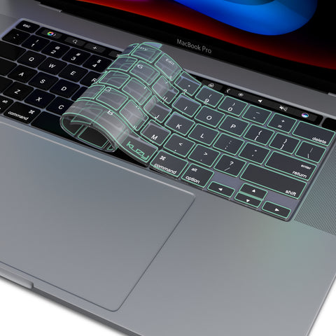 MacBook Pro 16 inch TPU Keyboard Cover 2020 2019 Release 2289 A2141 with Touch Bar