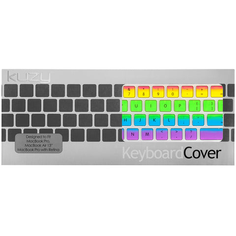 "Rainbow Keyboard Cover | MacBook Pro 13"" & 15"" and Air 13"""