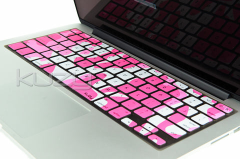 "Army Camouflage - Keyboard Cover for MacBook Pro 13"" 15"" 17"""