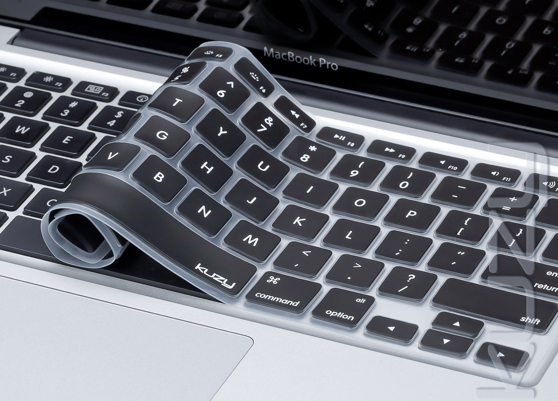 Black - Keyboard Cover for MacBook Pro 13