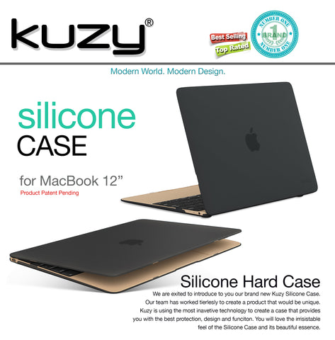 "Silicone Touch Case for MacBook 12"" A1534"