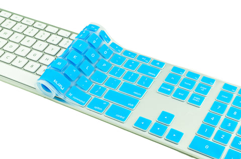 Apple A1243 Keyboard Cover with Numeric Keypad & Wire USB