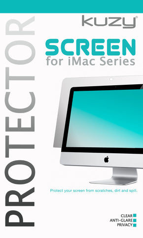 Screen Protector for 27 inch iMac Desktop Display Model: A1312 - Kuzy  | Cases & Covers for MacBook and iMac.