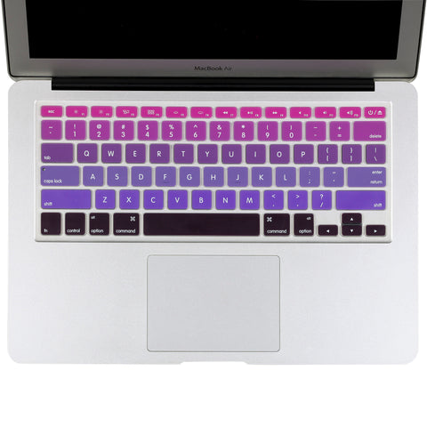 "Ombre Colors Keyboard Cover Silicone Skin | MacBook Pro 13"" 15"" 17"""