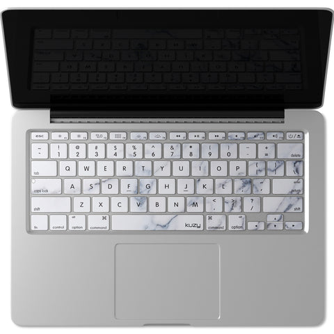 Kuzy - MacBook Pro Keyboard Cover with Touch Bar for 13 and 15 inch New 2019 2018 2017 2016 (Apple Model A1989, A1990, A1706, A1707) Silicone Skin Protector