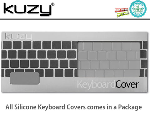 "CLEAR - Keyboard Cover for 2017 & 2016  MacBook Pro 13"" A1706 & MacBook Pro 13"" A1707 (with Touch Bar) Silicone Skin"