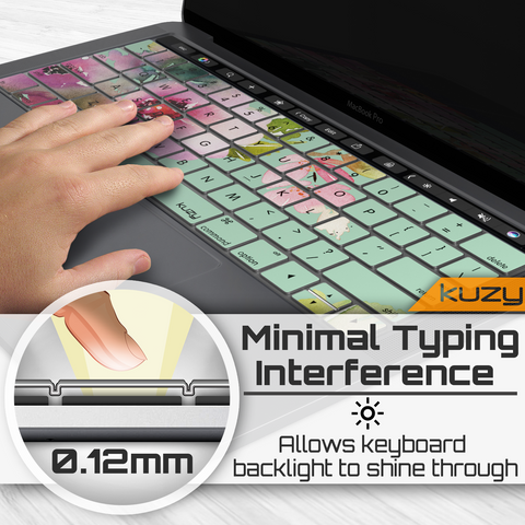 "Print Design Keyboard Cover | MacBook Pro 13"" with Touch Bar"
