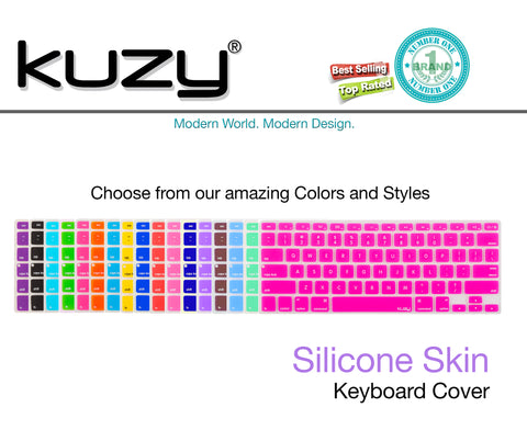 "Ombre Colors Keyboard Cover Silicone Skin for MacBook Pro 13"" 15"" 17"""