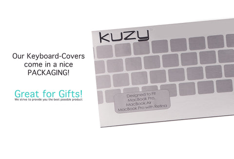 "Circles - Keyboard Cover Skin Silicone for MacBook Pro 13"" 15"" 17"" - Kuzy  