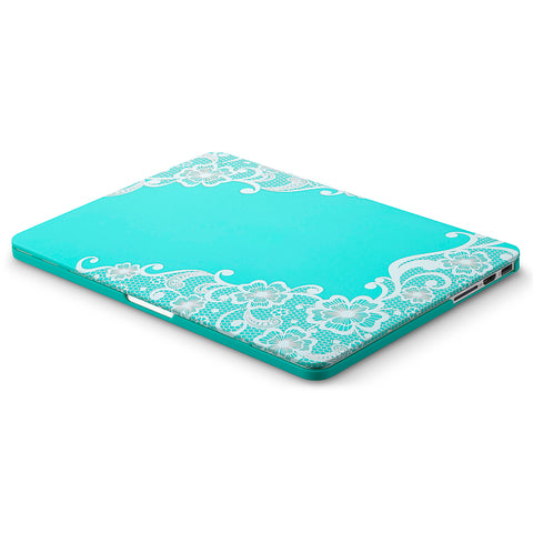 "Lace Rubberized Hard Case for MacBook Pro 13.3"" with Retina Display"