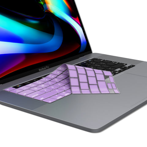 MacBook Pro 13 & 16 inch Keyboard Cover 2020, 2019 Release A2338 A2289 A2141 with Touch Bar