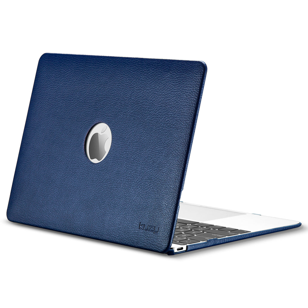 quality design 7c52a 6dc9a Leather Hard Case for MacBook 12