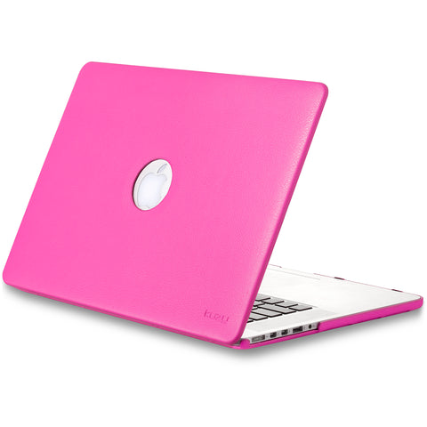 "Leatherette Hard Case for MacBook Pro 15.4"" Retina Display"
