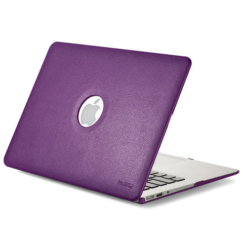 Kuzy Leatherette Hard Case for MacBook Air 13-inch Models: A1466 and A1369