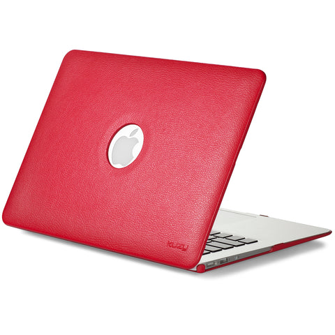 Leather Case for MacBook Air 13 inch A1466 & A1369 Hard Cover (Older Version)