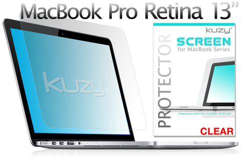 13 inch Retina MacBook - Screen Protectors Anti-Glare or/and Clear